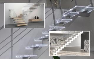 Design e plexiglas per le scale - Stylplex